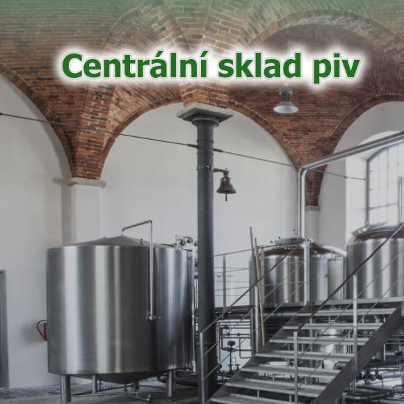 Centrální sklad piva