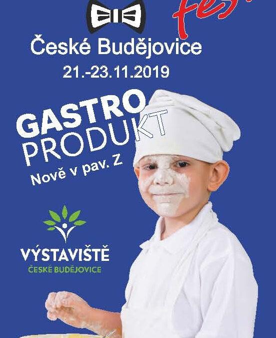 VOLNÁ VSTUPENKA na GASTROfest České Budějovice 21.-23.11.2019