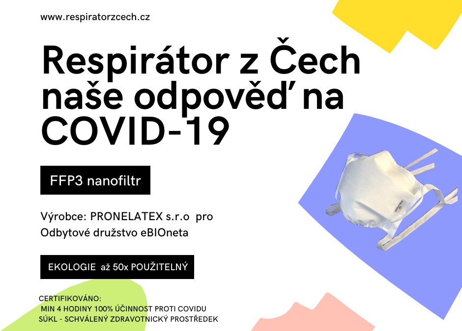 Respirátor z Čech